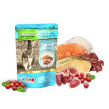Natures Menu Chicken, Salmon and Cod for Senior Cats