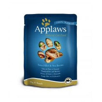 Applaws Cat Pouch Tuna & Seabream 12 Pack