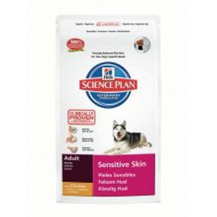 Hills Science Plan Canine Adult Sensitive Skin with Chicken