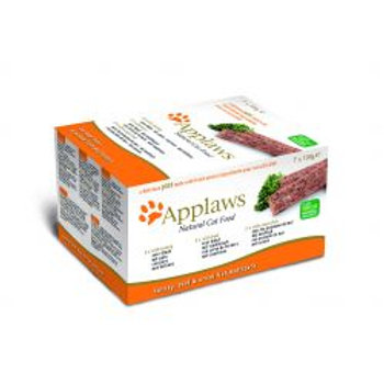 Applaws Cat Pate Turkey/Beef/Ocean Fish 7 pack