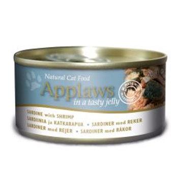 Applaws Cat Tin Sardine & Shrimp