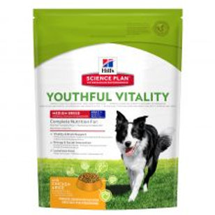 Hills Science Plan Canine Youth Vitality Medium Breed Chicken