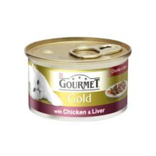 Gourmet Gold Chicken & Liver Chunks in Gravy