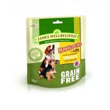 James Wellbeloved Minijacks Grain Free Lamb & Vegetables