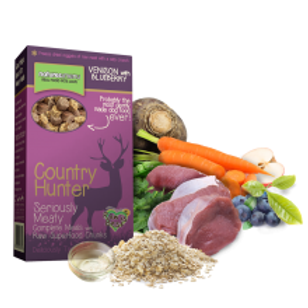 Country Hunter Venison with Blueberries Superfood Crunch