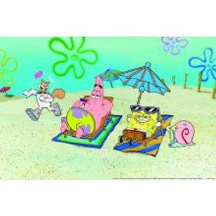 Animate Sponge Bob Background