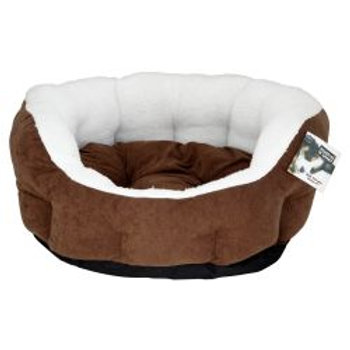 Choc & Plush Dogbed 61cm