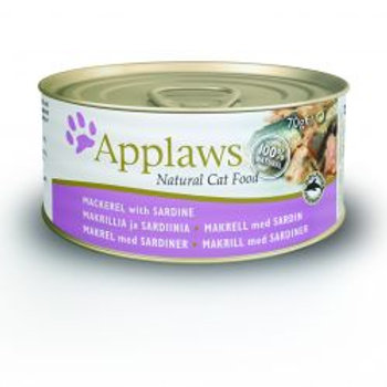 Applaws Cat Tin Mackerel & Sardine