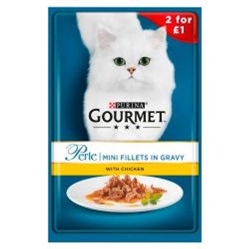 Gourmet Perle Mini fillets Chicken in Gravy 2/£1