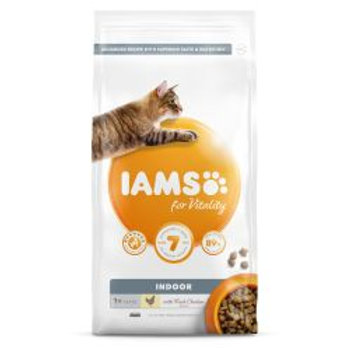 IAMS for Vitality Indoor Cat Food with Fresh chicken