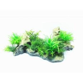 Fish 'R' Fun Plant & Rock Ornament