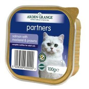 Arden Grange Cat Partners Salmon, Mackerel & Prawns