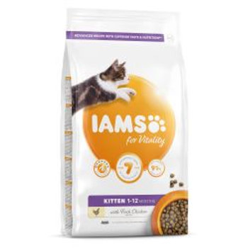 IAMS for Vitality Kitten Food with Fresh chicken