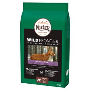 Nutro Dog Wild Frontier Adult Medium Breed Venison & Beef 10kg