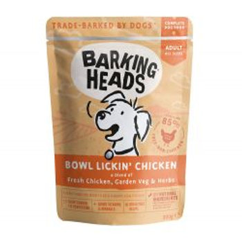 Barking Heads Bowl Lickin' Chicken Pouch (Formally Tender Loving Care tins)