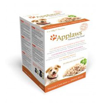 Applaws Dog Pouch Supreme Mixed Pack 5 Pack