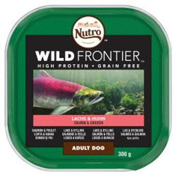 Nutro Ancestral Dog Tray Adult Salmon & Chicken in Loaf 300g