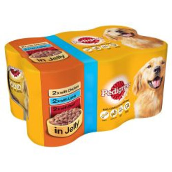 Pedigree Can Chunks in Jelly 6 Pack PM £3.95