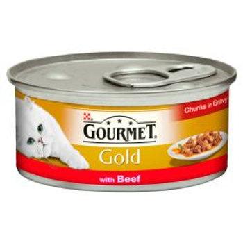 Gourmet Gold Beef in Chunks in Gravy