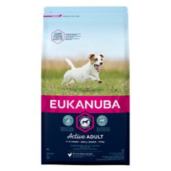 EUKANUBA Active Adult Small Breed Rich In Fresh Chicken