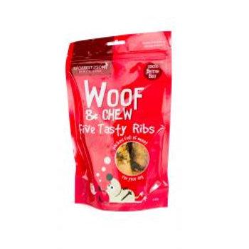 Woof & Chew Roasted Beef Ribs x5