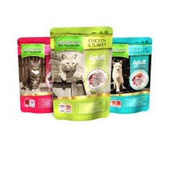Nature Menu Adult Cat Multipack Pouches 48 Pack