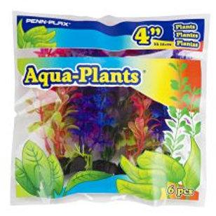 Aqua Plants Coloured Plant 6pk