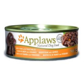 Applaws Dog Beef Steak & Vegetable