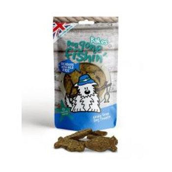 Dog Gone Fishin Bakes Seabass Wild Rice