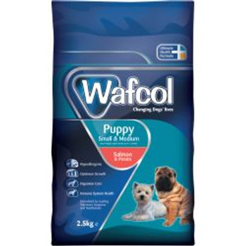 Wafcol Puppy Salmon & Potato Small/Medium