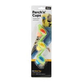 Ruff 'N' Tumble Perch 'N' Cups Bird Toy