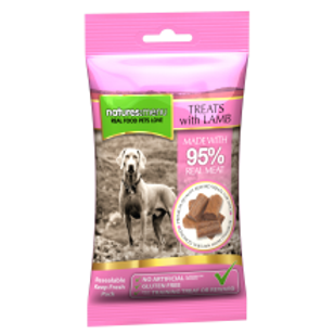 Natures Menu Real Meaty Dog Treats with Lamb and Chicken