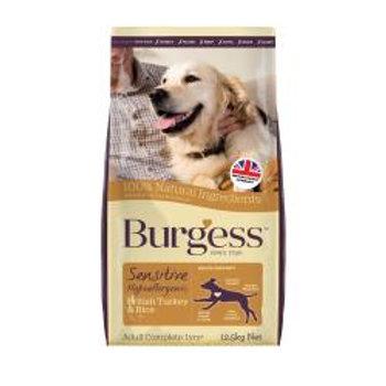 Burgess Sensitive Adult Dog Turkey & Rice