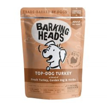 Barking Heads Top Dog Turkey Pouch (Formally Turkey Delight Grain Free)