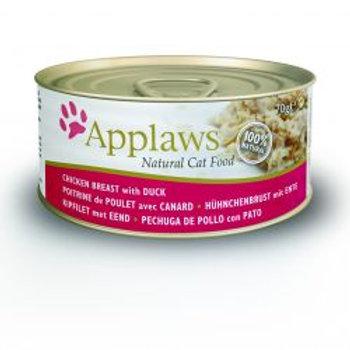 Applaws Cat Tin Chicken & Duck