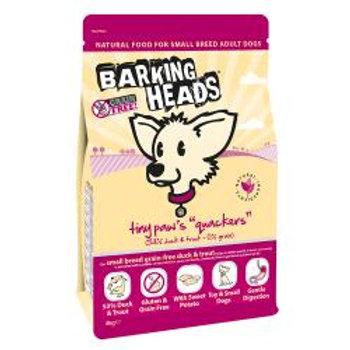 Barking Heads Tiny Paws Quackers Grain Free