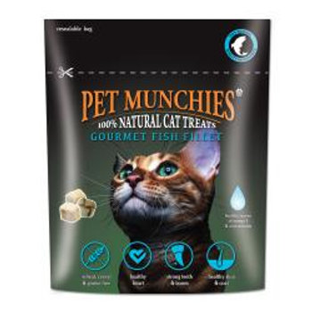 Pet Munchies Gourmet Fish Fillet for Cats