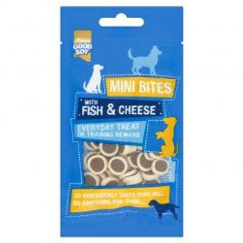Good Boy Mini Bites Fish & Cheese