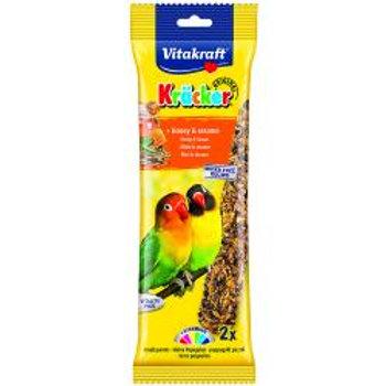 Vitakraft Lovebird Kracker Honey