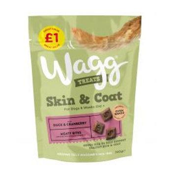 Wagg Skin & Coat Treats £1