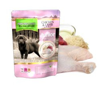 Natures Menu Junior Chicken & Lamb Pouches