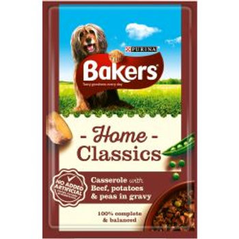 Bakers Pouch Home Classic Beef