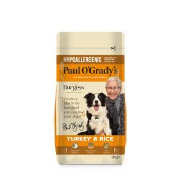 Paul O'Grady's Hypoallergenic Turkey & Rice