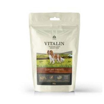 Vitalin Natural 60% Fresh Duck Treats