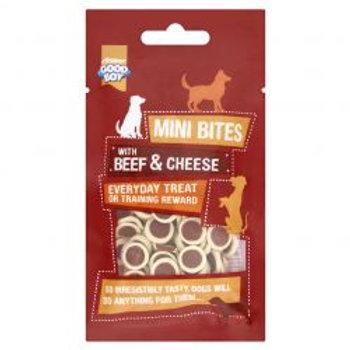 Good Boy Mini Bites Beef & Cheese