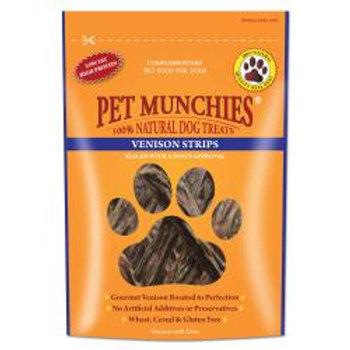 Pet Munchies Venison Strips