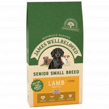 James Wellbeloved Dog Senior Small Breed Lamb & Rice
