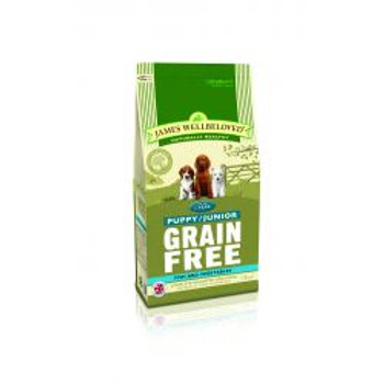 James Wellbeloved Dog Pup/Junior Grain Free Fish