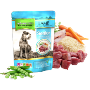 Natures Menu Senior Lamb with Chicken Dog Pouch