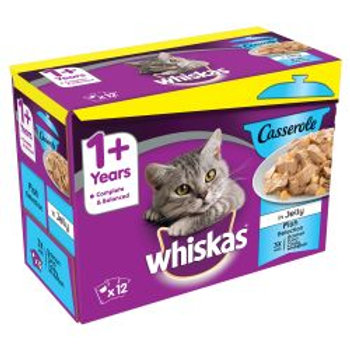 Whiskas 7+ Casserole Poultry PM £4.25 12 Pack